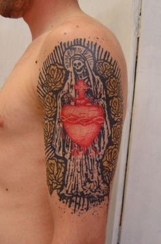 More from French tattoo artist Xoil.