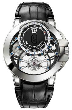 Harry Winston Ocean Tourbillon Jumping Hour Watch