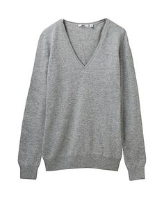 cashmere v-neck ($79) // perfect for cozy weekends