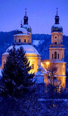 St. Lorenz Basilica in Kempten, Bavaria, Germany