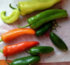 Picture of Prepare peppers