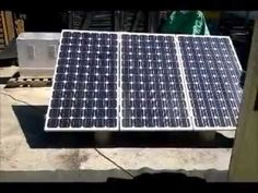 Solar Power Trailer Off Grid Printing Videos Photography Outdoor Post Lights, Outdoor Lighting, Outdoor Decor, Solar Powered Air Conditioner, Landscape Arquitecture, Panic Rooms, Landscaping Software, Landscaping Jobs, Window Unit