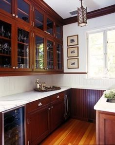 Kitchen color combo - cabinets, wood trim, floor