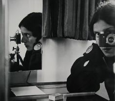 Ilse Bing • Self-Portrait in Mirrors • 1931