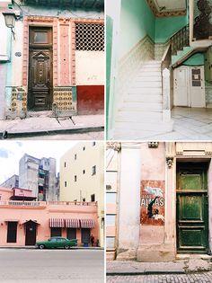 cuban architecture. / sfgirlbybay