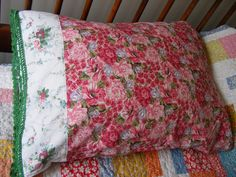 New roses and #RalphLauren pillowcase in my #etsy shop