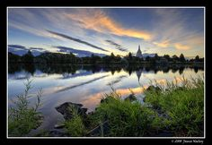 Morning Breaks and Shadows Flee by James Neeley, via Flickr