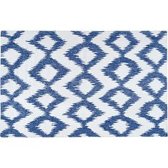 Kendall Flat-Weave Rug Navy Area Rugs ($39) ❤ liked on Polyvore featuring home, rugs, ikat rug, dark blue area rug, textured rug, flat woven rug and flat weave area rugs