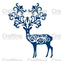 Tattered Lace Dies - Ornate Reindeer