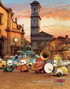 cars 2 Oscar Ads