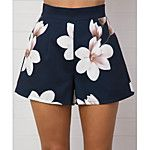 2017 Summer Women Short for Workout High Waist Wide Leg Shorts Elegant Back Zip Floral Pockets Casual Loose Shorts Femme Floral Print Pants, Printed Pants, Floral Prints, Floral Shorts, Cotton Shorts Women, Fashion Pants, Fashion Outfits, Trendy Fashion, Fall Fashion