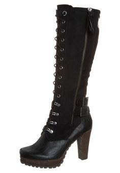 Unik Damen Tamaris Boots Cognac Winterschuhe High Quality