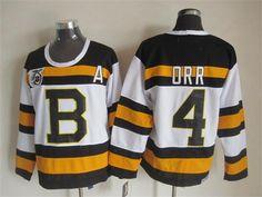 NHL Jersey Boston Bruins #4 orr white Jersey