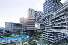 World Building of the Year 2015 - 'The Interlace' apartments in Singapore by OMA and Ole Scheeren.