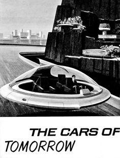 Retro Futuristic Pontiac ad, 1965