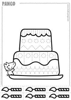 Cutting cakes Cutting Activities, Sensory Activities Toddlers, Primary Activities, Alphabet Activities, Preschool Birthday, Birthday Activities, Baby Art Crafts, Class Birthdays, Preschool Centers
