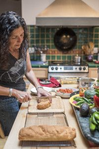 CHEFS FROM MEXICO, THE EAST COAST, AND PATAGONIA MAKE TAOS THEIR HOME. Photo by Katharine Egli.
