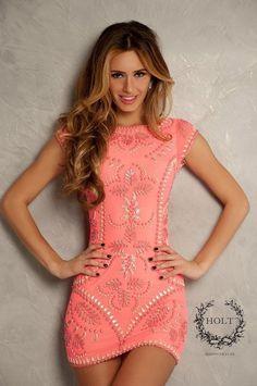 Holt Metal Pink Dress