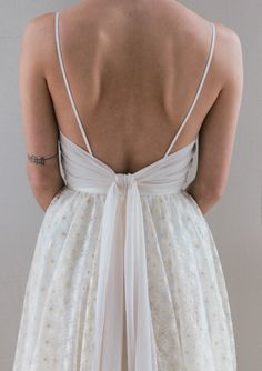 Samantha (Truvelle 2018 collection) customized with almond chiffon ties Wedding Dress Chiffon, Lace Mermaid Wedding Dress, Wedding Gowns, Lace Dress With Sleeves, Feminine Dress, Draped Dress, Unique Dresses, Bride, Wedding Wishes