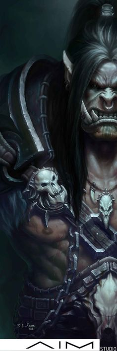 Grommash Hellscream by XL-Kong.deviantart.com on @DeviantArt