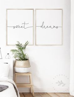 Buona Notte Printable Set of Above Bed Printable Quote Set of Buona Notte Print, Above Bed Prints, Buona Notte, Guest Bedroom Wall Art Good Morning Gorgeous, Bedroom Quotes, Bed Quotes, Quotes Quotes, Bedroom Decor, Wall Decor, Bedroom Wall Art Above Bed, Bedroom Ideas, Printable Quotes