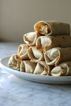 Baked mini chicken burritos. And 8 other ways to win the Super Bowl--without losing your waistline.