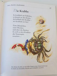 Die Krabbe #fingerspiel #krippe #kita #kleinkind #reim #gedicht #erzieherin #erzieher