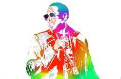Jay Z // abstract artwork // hip hop