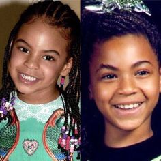 Blue Ivy and her Mom Twin Beyonce