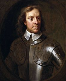 Portrait d'Oliver Cromwell par Samuel Cooper.