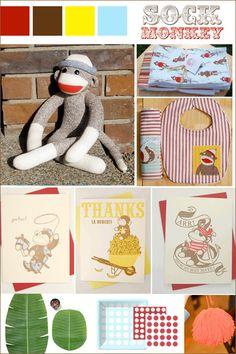 Vintage sock monkey...possible theme