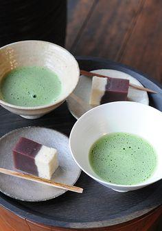 抹茶〜和菓子