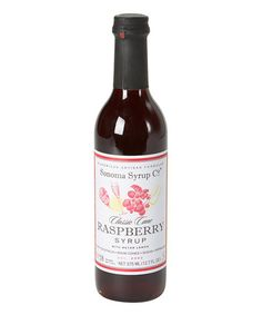 Another great find on #zulily! Raspberry-Lemon Artisan-Infused Simple Syrup by Sonoma Syrup Co. #zulilyfinds