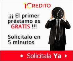 1credito ofrece #préstamos inmediatos GRATIS con ASNEF online