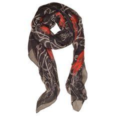 Alexander McQueen scarf, $575, Saks Fifth Avenue.