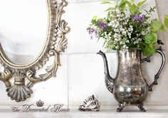 silverplate pitcher