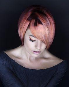 Skyler Colour #skylermcdonald #colorhair #haircolor #coloring #dipdye #цветныеволосы #дипдай #окрашивание  Hair: Skyler McDonald Photography: Trevor Leighton Make-up: Cheryl Phelps Gardiner