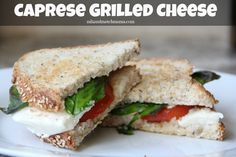 Mix and Match Mama: Caprese Grilled Cheese