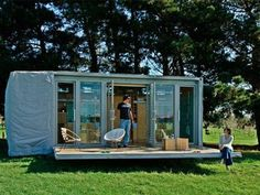 Port-a-Bach Shipping Container Holiday Home