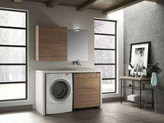 Fantastiche immagini su mobili bagno componibili qubo laundry