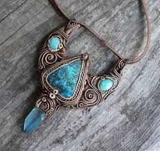 Polymer clay pendant fairy clay pendant elvish necklace autumn image result for polymer clay pendants mozeypictures Gallery