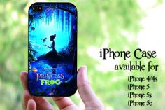 princess and the frog design hard case for iPhone by MilkyWayCases, $14.50