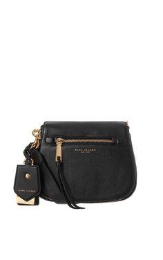 Axelremsväska Recruit Small Saddle Bag BLACK - Marc Jacobs - Designers - Raglady