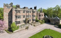 castle for sale in Stoke-on-Trent, Staffordshire, England - Dating back to the century, Caverswall Castle comes with a moat and a dungeon. Peak District, Mad About The House, Loire Valley, Uk Holidays, Fantasy Castle, English Manor, Holiday Accommodation, Stoke On Trent, Big Houses