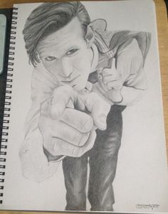 Matt smith doctor who drawing