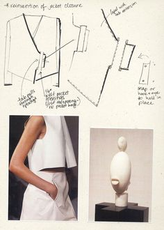 Fashion Sketchbook - fashion design drawings; creative process; fashion portfolio // Sarah Conlon