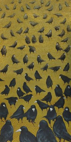 Crows Ravens: A Murder of Crows.