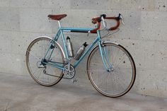 Blue road bike - I feel like I've already pinned this, but it deserves another.