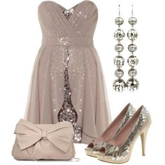 """""""Shimmery Sequins"""" by qtpiekelso on Polyvore"""