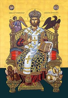 Christ the Great High Priest . Religious Images, Religious Art, Religious Icons, The Transfiguration, Christ The King, Catholic Art, Catholic Religion, High Priest, Lion Of Judah